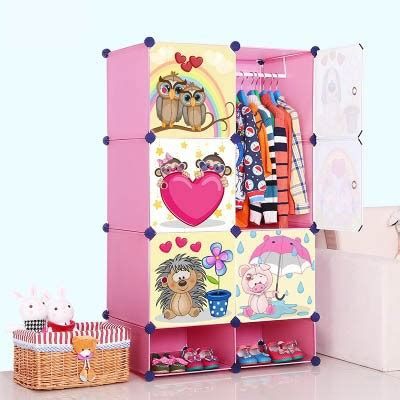 Baby Clothes Cupboard by New Portable Clothes Storage Wardrobe Baby Plastic
