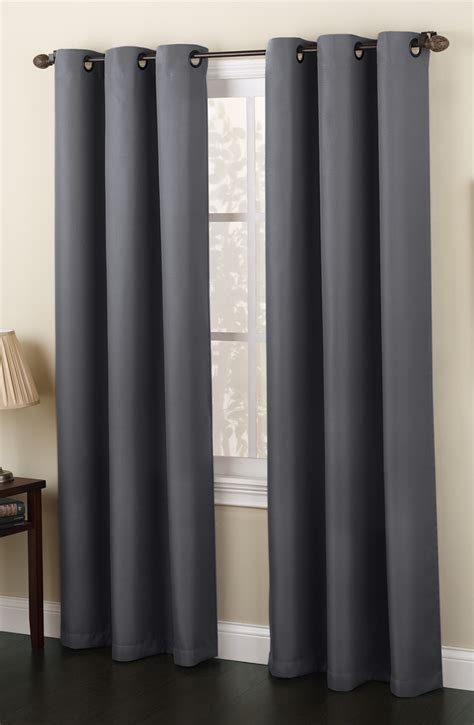 grommet curtain panels montego grommet top curtain panels mineral lichtenberg