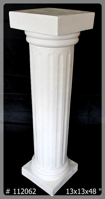 pedestals  planters  ultimate wedding project