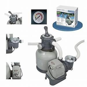 Filtre A Sable Bestway : pompe intex achat vente pompe intex pas cher cdiscount ~ Voncanada.com Idées de Décoration