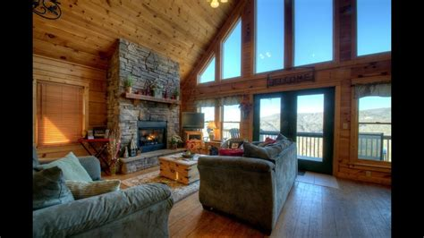 eagles nest cabin rental  asheville nc youtube
