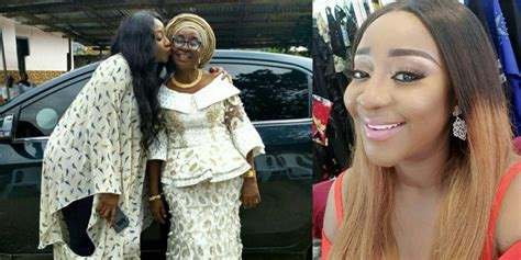 Ini Edo Celebrates Her Mother On Mother's Day (photo