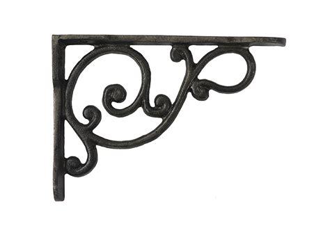 iron shelf brackets size of traditional shelf