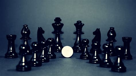 white chess piece  top  chess board  stock photo