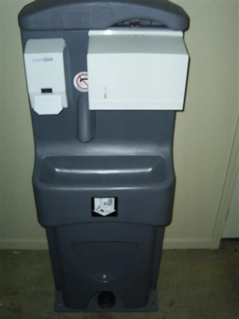 portable toilet sink combo alcatec services page