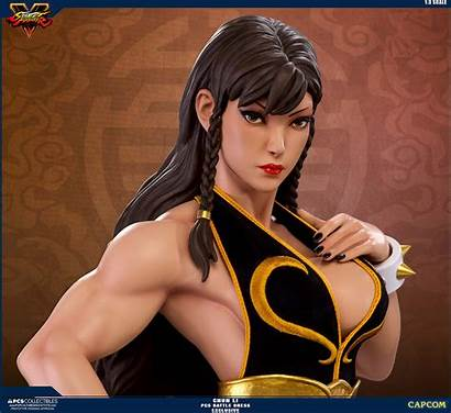 Li Pcs Fighter Street Chun Battle Statue