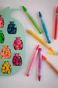 Pineapple DIY Crayons
