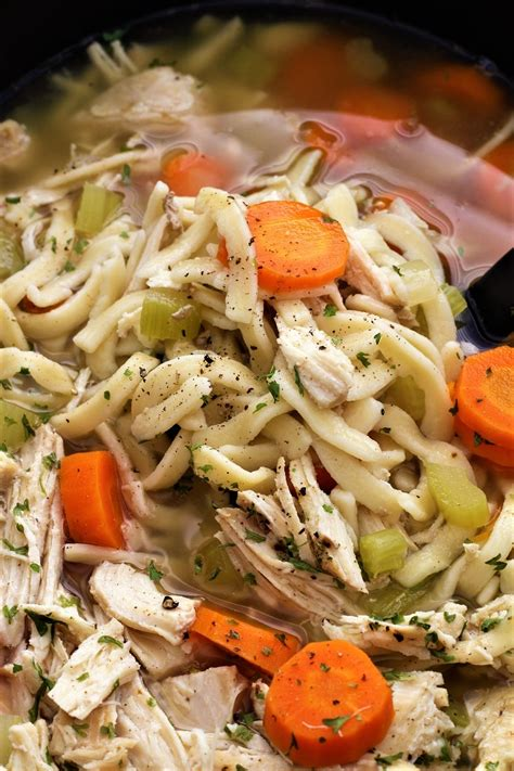 20 best crockpot chicken recipes to try for dinner. Crock Pot Chicken Noodle Soup   Recipe in 2020 (With ...