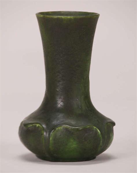 Green Vase by Grueby Matte Green Vase California Historical Design