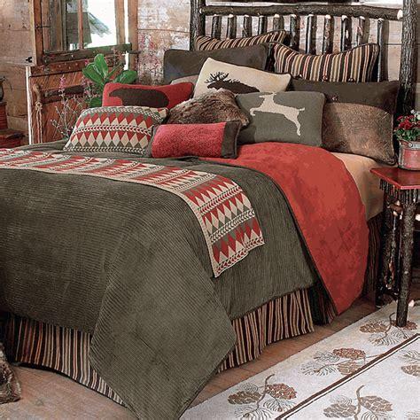 rustic king size comforter sets rustic bedding king size wilderness bed set black forest