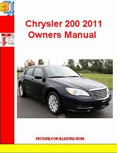 Chrysler 200 2011 Owners Manual