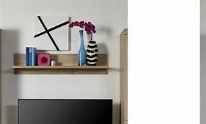 Etagere Murale Chene : etagere murale contemporaine couleur chene clair ferro ~ Teatrodelosmanantiales.com Idées de Décoration