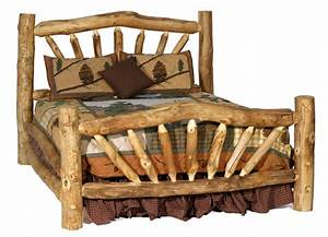 How to Build a Rustic Log Bed Frame - Page 3 of 3