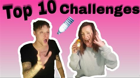 10 Youtube Challenges Of 2017 Compilation Youtube