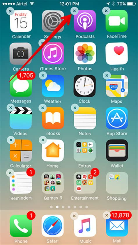 app on iphone how to remove reinstall stock apps in ios 10 on iphone or