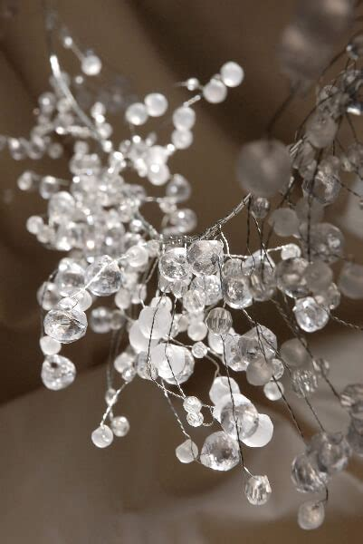 wired crystal garlands