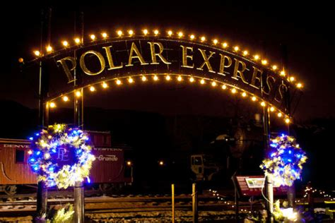 magical polar express train ride  colorado