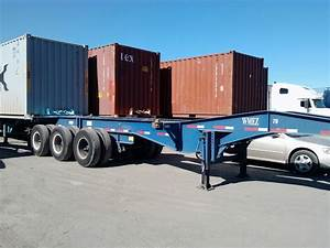 Container Chassis  U0026 Parts  20 U0026 39  Tri Axle