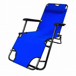Transat De Plage Pliable : chaise longue transat pliable 3 position ~ Teatrodelosmanantiales.com Idées de Décoration
