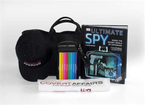 COVERT AFFAIRS Prize Pack Contest | SEAT42F