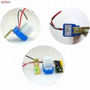 Automatic Auto On Off Photocell Street Light Switch Dc Ac