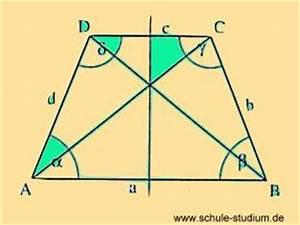 Trapez Winkel Berechnen : geometrie eigenschaften von quadrat rechteck gleichschenkliges trapez und drachenviereck ~ Themetempest.com Abrechnung