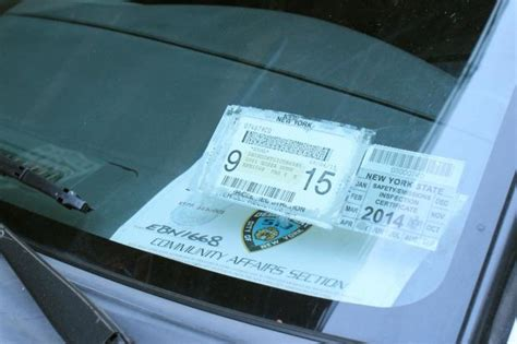 driver  fake police parking permit runs  officers