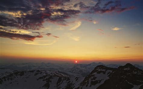Photography, Nature, Sunset, Mountain, Landscape
