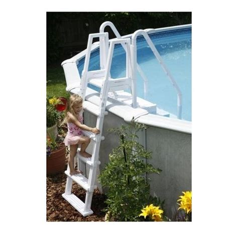 outside ladder for easy pool step pc pools