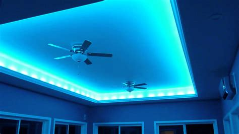 Kitchen Soffit Ideas - crazy lights led indirect lighting for the ceiling youtube