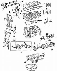 Genuine Oem Engine Parts For 2002 Toyota Rav4 Base