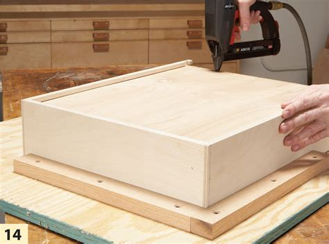how to build a cabinet box fast and easy drawer boxes popular woodworking magazine