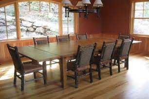 Large Rustic Dining Room Tables