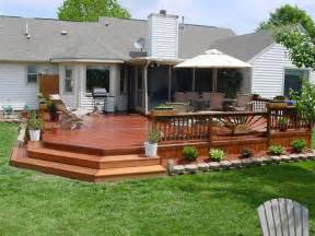 Simple Decks For Houses Ideas by Wood Deck Installers In Hton Roads Va Acdecks