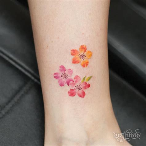 105 Sensational Watercolor Flower Tattoos Tattoomagz