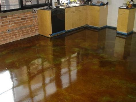 stained concrete kitchen floor stained concrete floor kitchen wood floors 5695