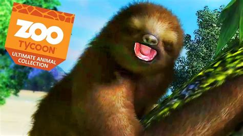 zoo tycoon sloths animal collection ultimate