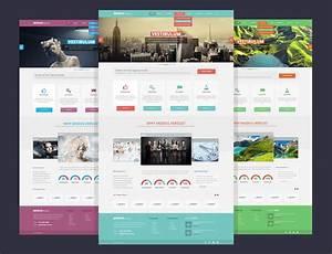 15 Stylish Web Design Free Psd Templates