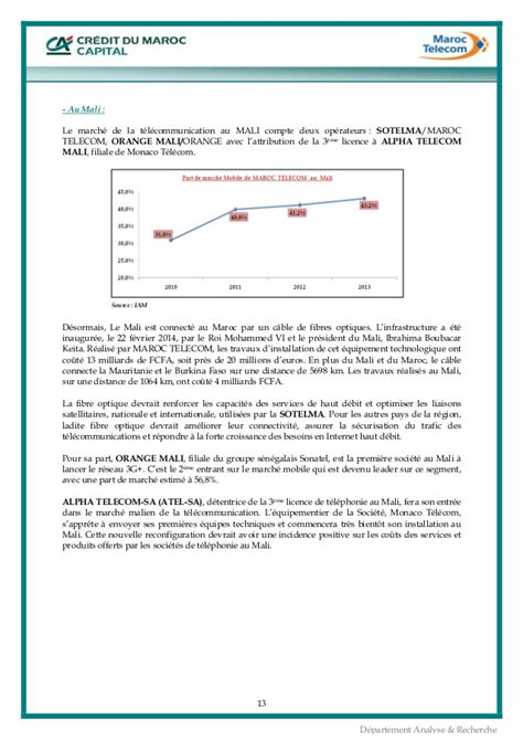 alpha telecom mali siege maroc telecom mars 2014