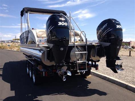 timotty   twin engine pontoon boat