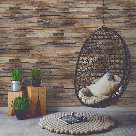 béton ciré cuisine leroy merlin papier peint intissé planche de bois marron leroy merlin