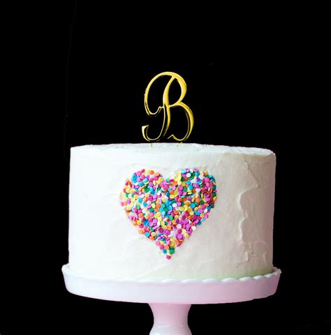 letter cake toppers gold cake topper 7cm number 4 bake 22787