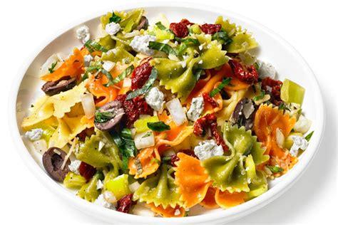 patate douce cuisiner salade de pâtes méditerranéenne manger méditerranéen