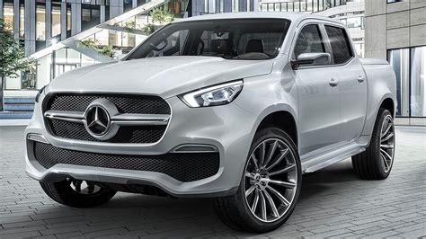 Mercedes-benz X-class Pick-up Concept