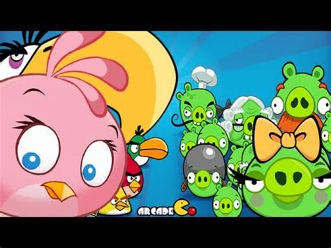 Angry Birds Chuck Red Bomb and Stella