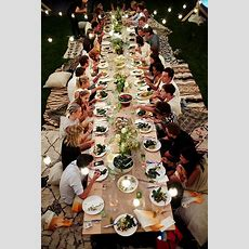 5 Backyard Party Ideas  Divine Dining  Outdoor Dinner