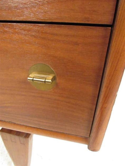 vintage kitchen cabinets for mid century modern walnut cabinet by stanley furniture for 8835