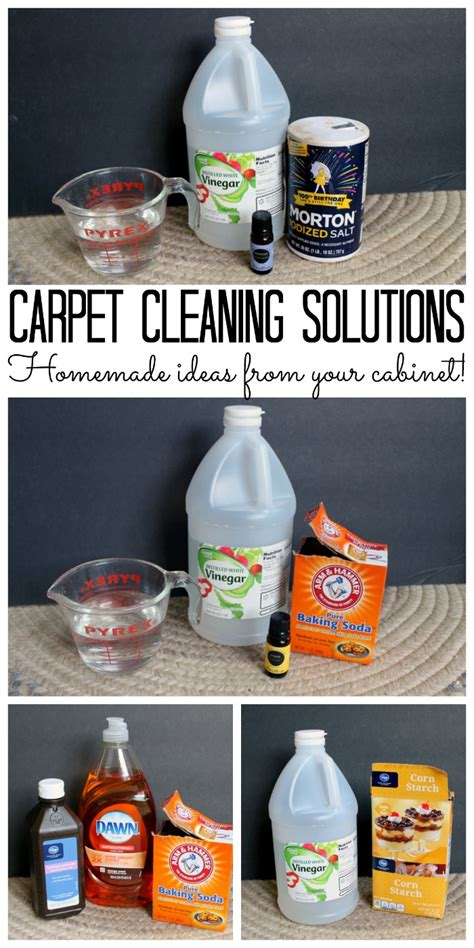 Rug Cleaner Solution by Carpet Cleaning Solutions From Your Cabinet