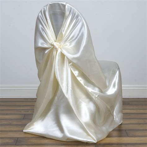 75 pcs satin universal chair covers for all kinds of
