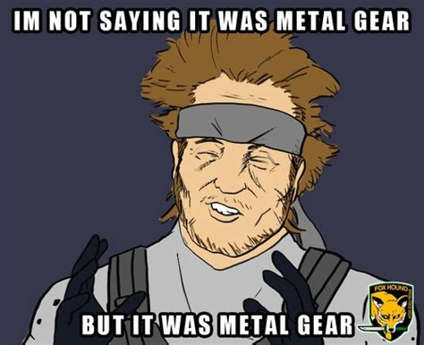 Metal Gear Solid Memes - image 572397 metal gear know your meme